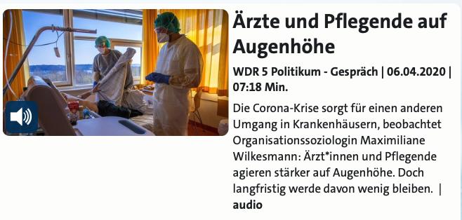 Wilkesmann_WDR5_Politikum